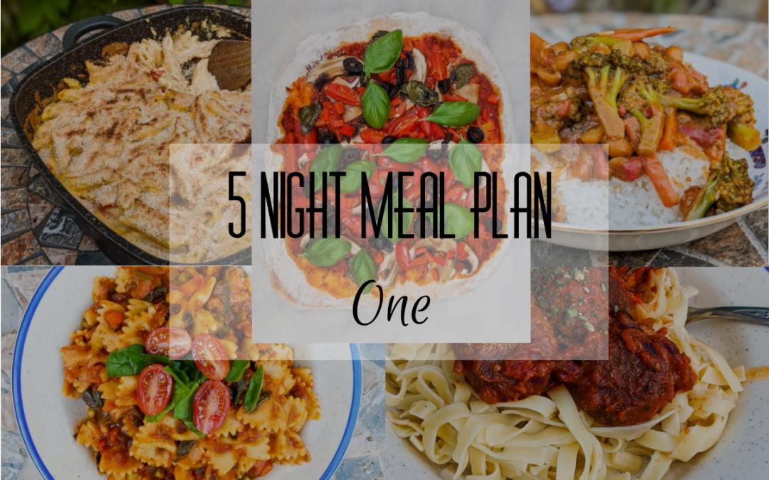 5 Night Meal Plan – One
